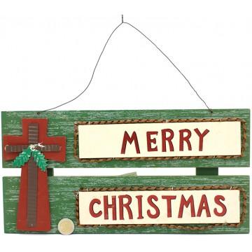 Merry Christmas Hanger 19*38CM