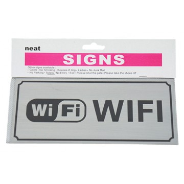 Wifi Zone Sign 12/Pk