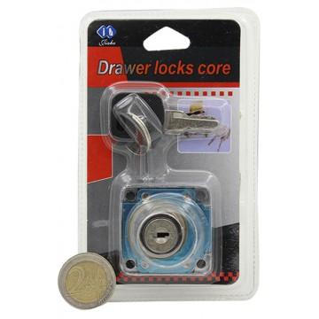32MM DRAWER LOCKS CORE
