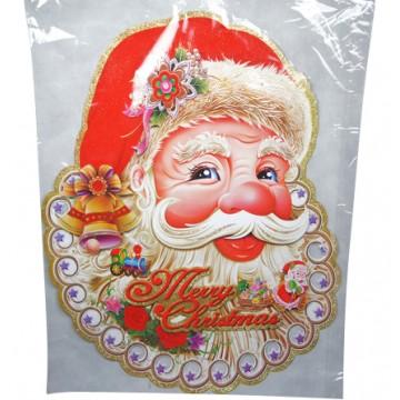 Paper Santa Head 90*72cm