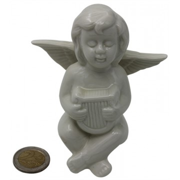 PORCELAIN SITTING ANGEL
