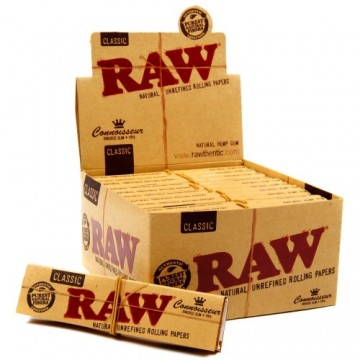 RAW CONNOISSEUR KS PAPER & T(24)