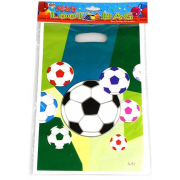 16*25CM FOOTBALL LOOT BAG