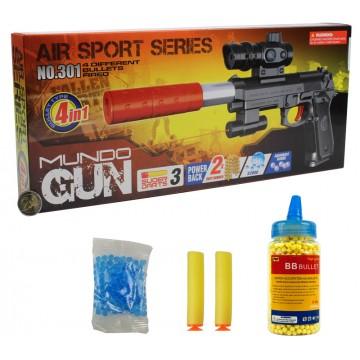 301 3IN1 AIR SPORT BB GUN(Pellets Not Included)