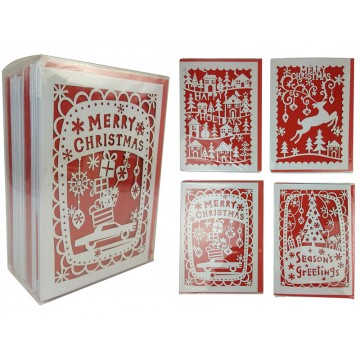 Assorted 3D Xmas Cards 16*19*21CM