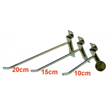 20cm Slatwall Hook