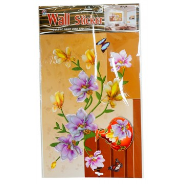 FLOWER WALL STICKER 35*60cm