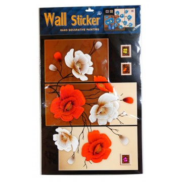 FLOWER WALL STICKER 37*61cm