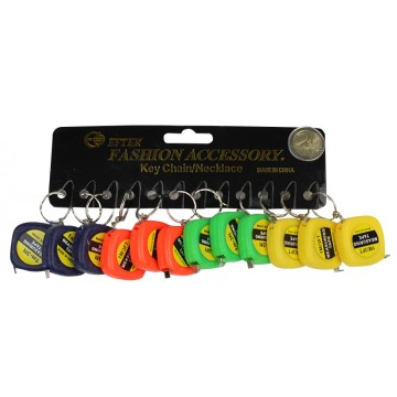 KEY CHAIN 1M MEASURING TAPE