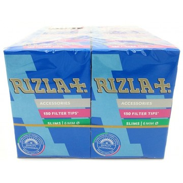 RIZLA Slim Filter Tips 150's