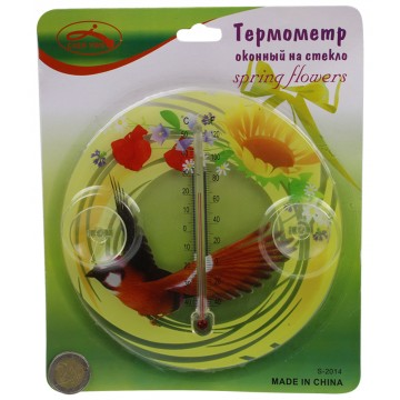 THERMOMETER W/ SUCTION CUPS