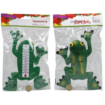 FROG THERMOMETER W/SUCTION CUPS