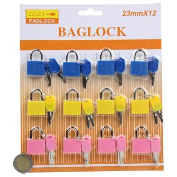 12PC BAG LOCKS