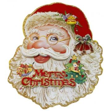 Paper Santa Head(L) 91*72cm