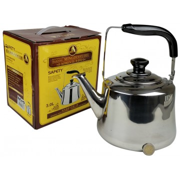 3L ST/STEEL KETTLE