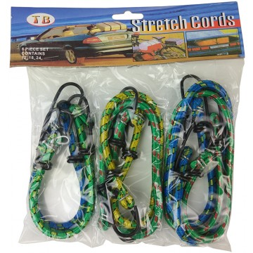 6PC BUNGEE CORD