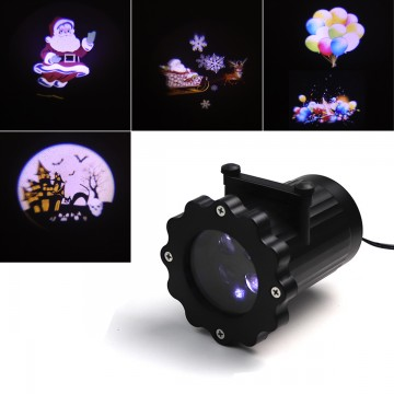 4 SLIDES MOVING LED PROJECTOR LIGHTS