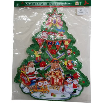 XMAS TREE DECORATION 60*72cm
