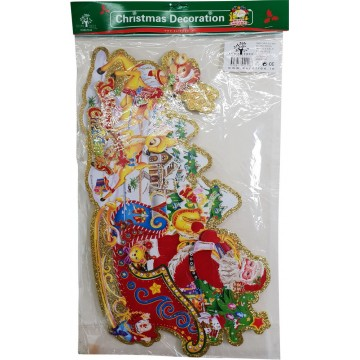 SANTA&SLEIGH (2peces in pack)50*30cm