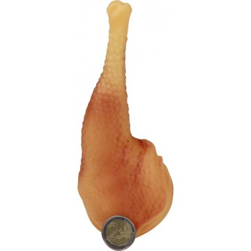 DOG TOY SQUEAKY CHICKEN LEG