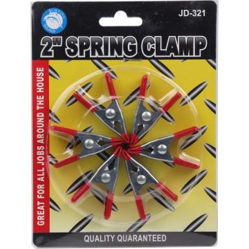 "2"" 6PC SPRING CLAMP"