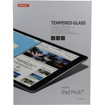 "REMAX iPad Pro 9.7"" Tempered Glass(2.5D)Visable"