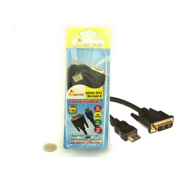 1.5M HDMI TO DVI CABLE