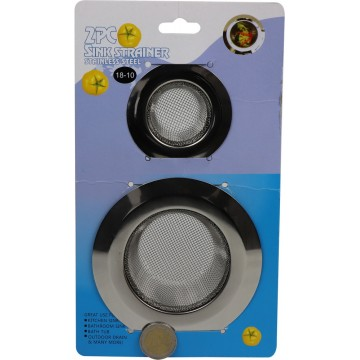 2PC SINK STRAINER