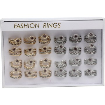 FASHION COUPLE RINGS SET