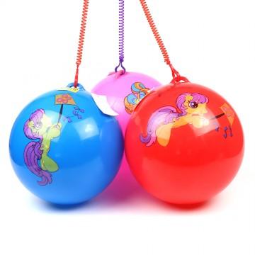 "9"" UNICORN PVC BALL"