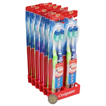 2PC COLGATE TOOTH BRUSH