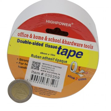 4.8MM*10M DOUBLE SIDE TISSUE TAPE