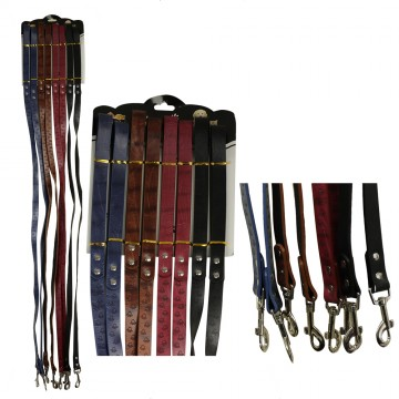 2.0*1.2m LEATHEROID DOG LEASH