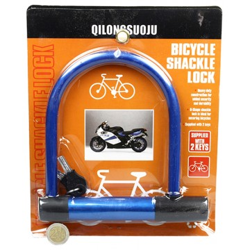 BICYCLE SHACKLE LOCK