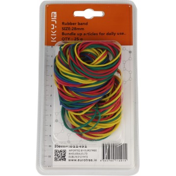 RUBBER BANDS 28MM 25G