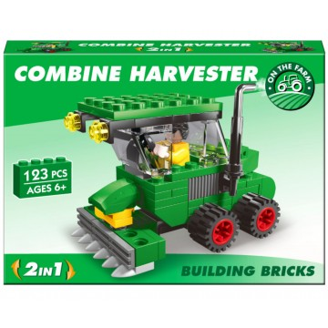 Combine Harvester Brick Set