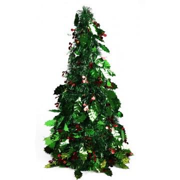 TINSEL XMAS TREE 20*50CM