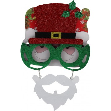 NOVELTY CHRISTMAS GLASSES