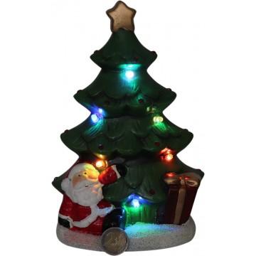 LIGHT UP XMAS TREE 17*10*23CM