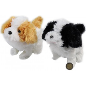 PLUSH WALKING&BARKING DOG