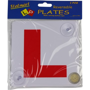 2 L PLATES W/SUCTION