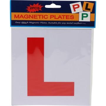 2 MAGNETIC L PLATES