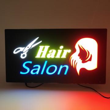 LED HAIR SALON SIGN 43*23CM