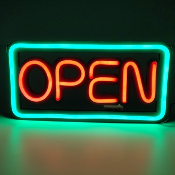 LED NEON OPEN SIGN 50*25CM