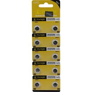 10PC AG3/LR41H CELL BATTERY