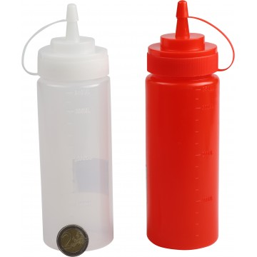 PLASTIC SAUCE BOTTLE 350ML