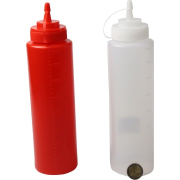 PLASTIC SAUCE BOTTLE 800ML