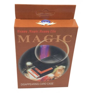 Magic Disappearing Card Case