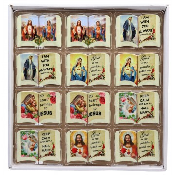 PORCELIAN RELIGIOUS FRIDGE MAGNETS 6*8CM