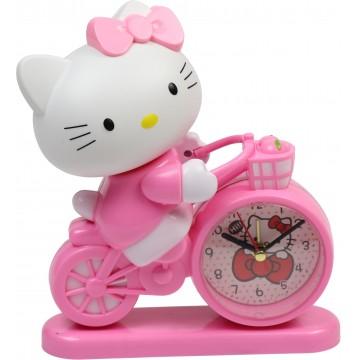 KITTY CLOCK 16*19CM